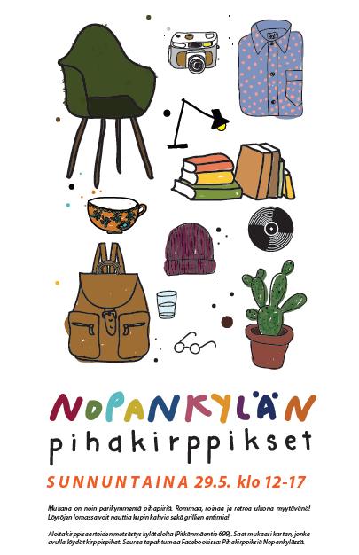 kirppikset Nopankylä Ilmajoki